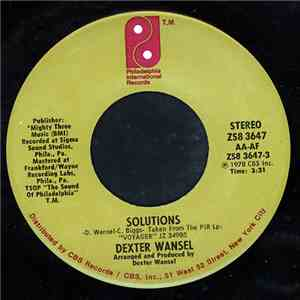 Dexter Wansel - Solutions / I'm In Love album