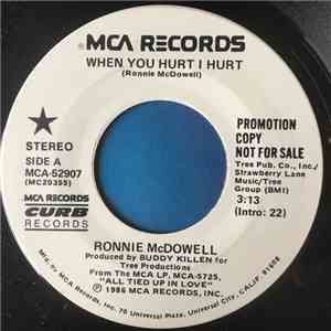 Ronnie Mcdowell - When You Hurt, I Hurt album
