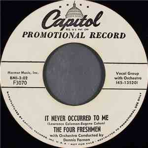 The Four Freshmen - It Never Occurred To Me album