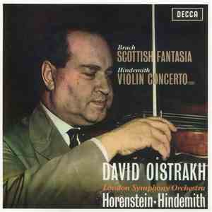 Bruch, Hindemith, David Oistrakh, London Symphony Orchestra, Horenstein - Scottish Fantasia / Violin Concerto album